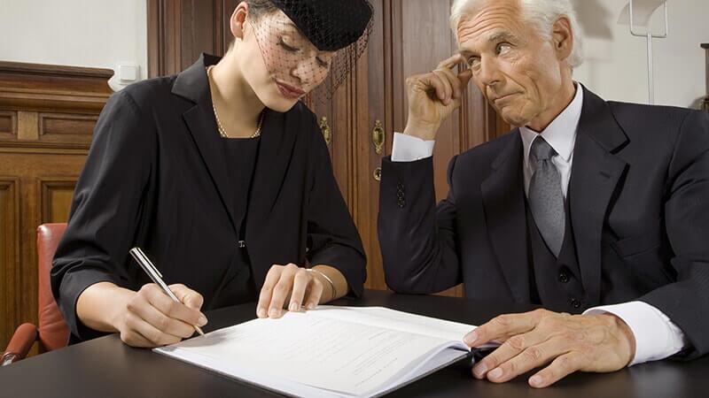 Права бывшей жены на наследство