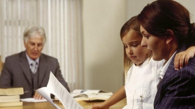 Несовершеннолетние или нетрудоспособные дети наследодателя