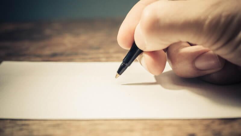 Этапы написания