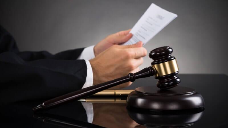 Принятие в судебном порядке